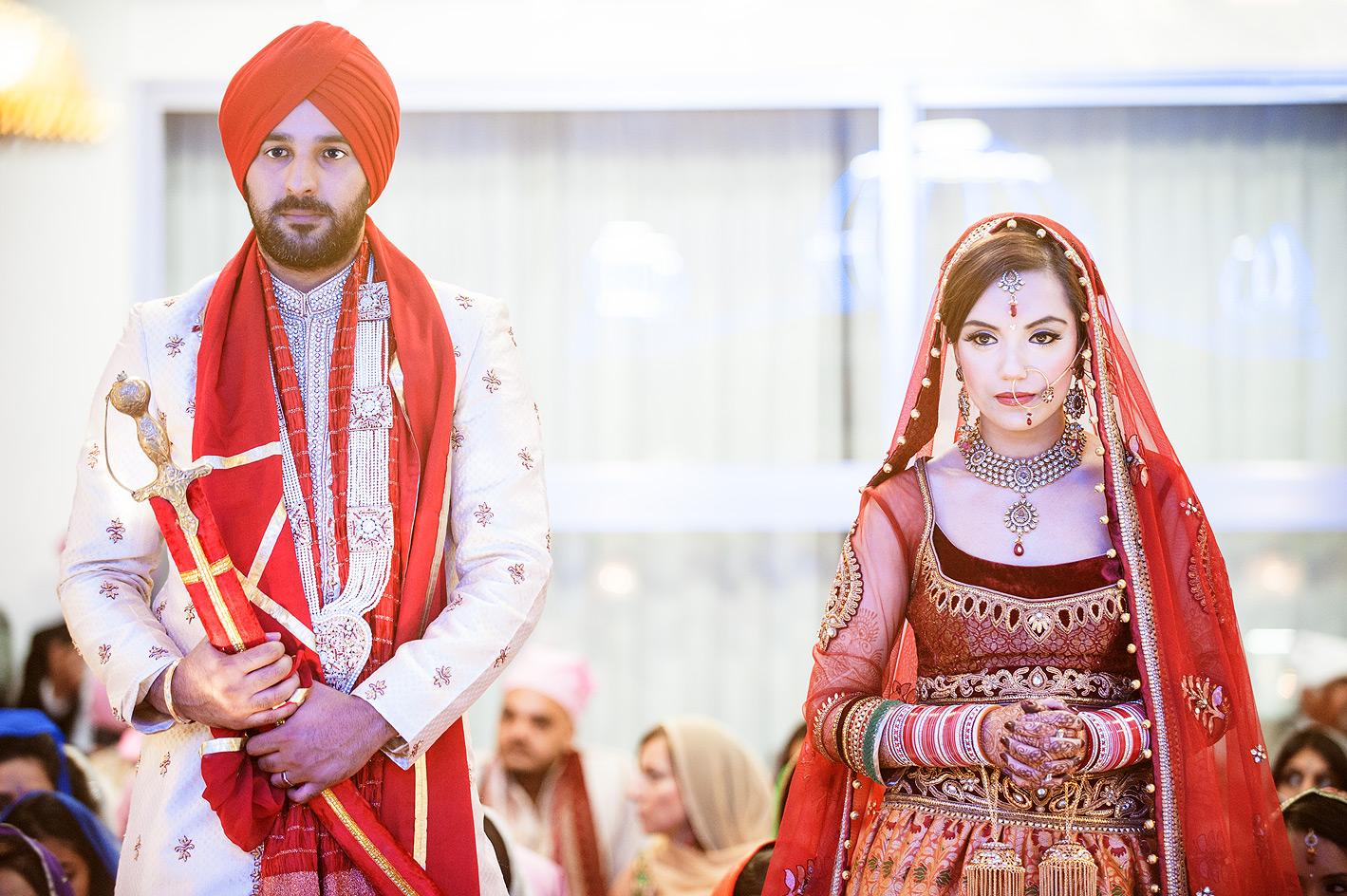 Sikh Wedding Photography   Wedding Photographer in London
